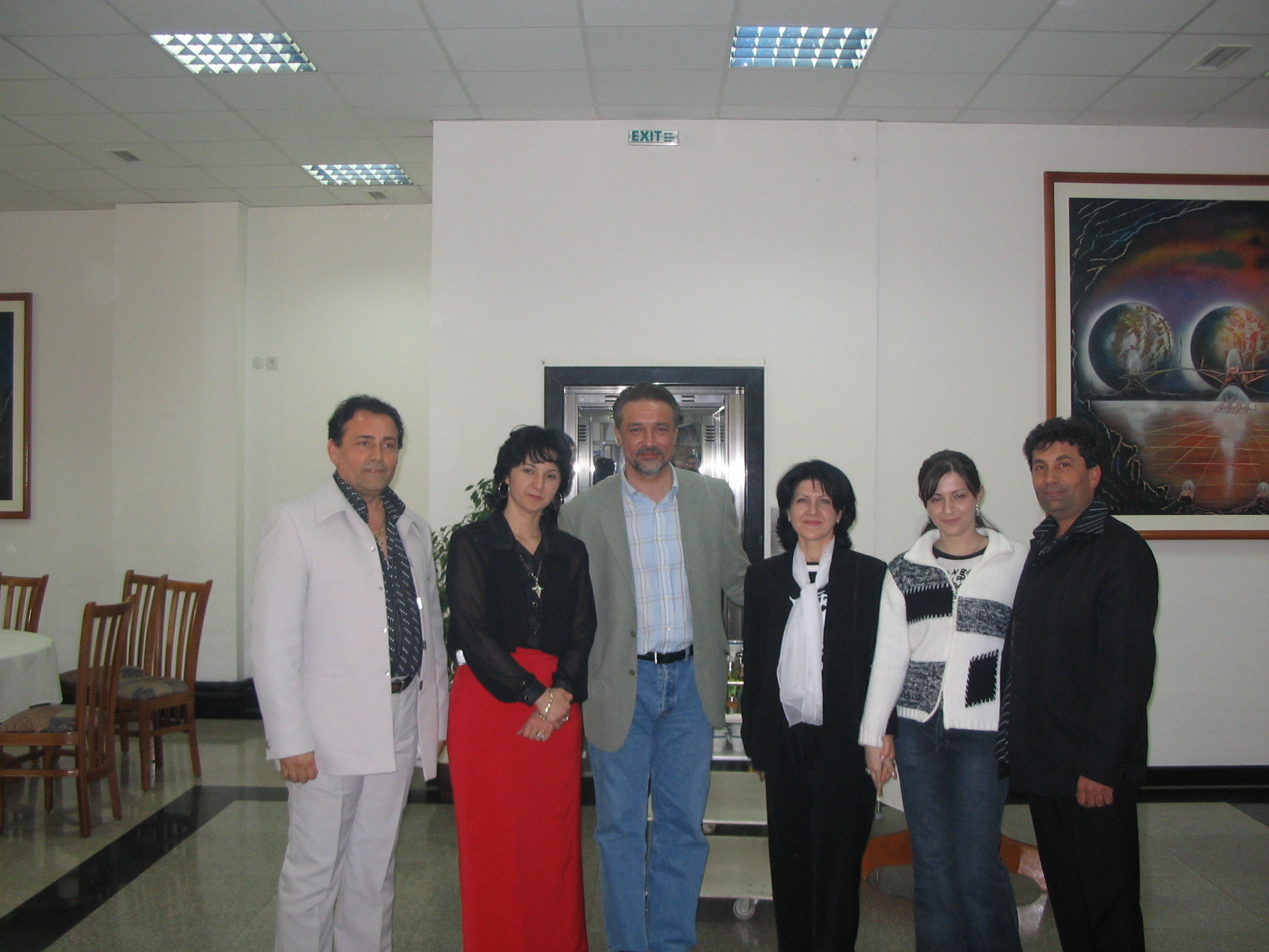 owner family with president of Macedonia